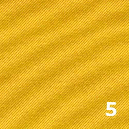 100%-polyester-microfibre-peachskin-yellow